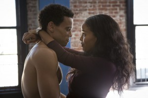 Danny (Michael Ealy) and Debbie (Joy Bryant) in Los Angeles in Screen Gems' ABOUT LAST NIGHT.
