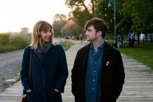 ***SUNDAY CALENDAR SNEAKS FOR APRIL 27, 2014. ***DO NOT USE PRIOR TO PUBLICATION*** Daniel Radcliffe and Zoe Kazan in the movie WHAT IF to be released by CBS Films.
